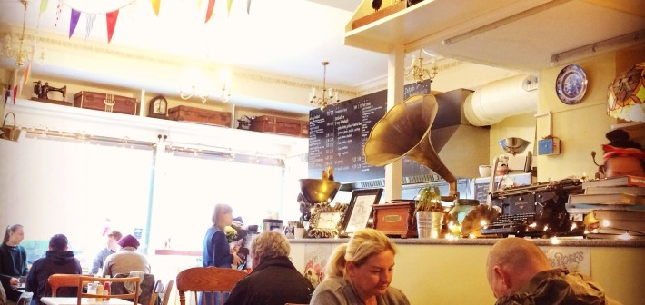 The Haven cafe, Edinburgh