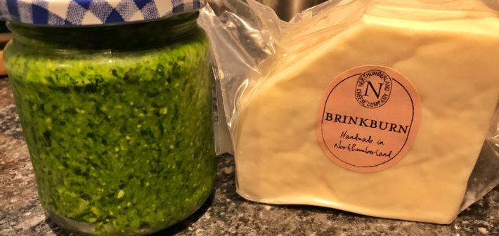 Wild Garlic Pesto and Brinkburn Chicken