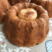 Mini Simnel Bundt Cakes